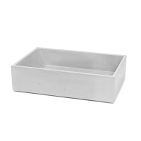 Baby Rectangle Concrete Basin