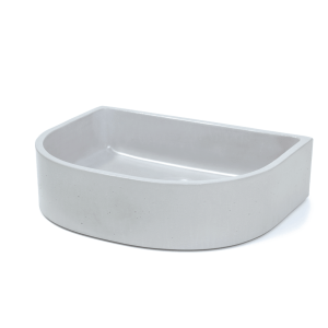 Half Moon Sink Concrete Basin