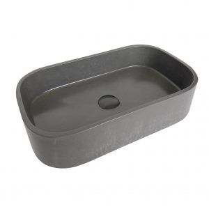 Rounded Rectangle Concrete Basin